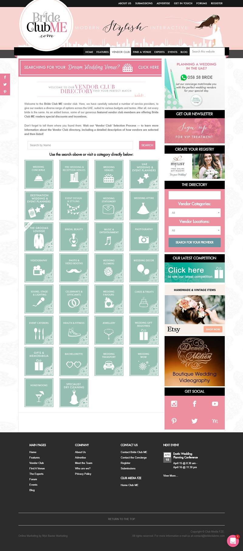 BrideClubMe Directory