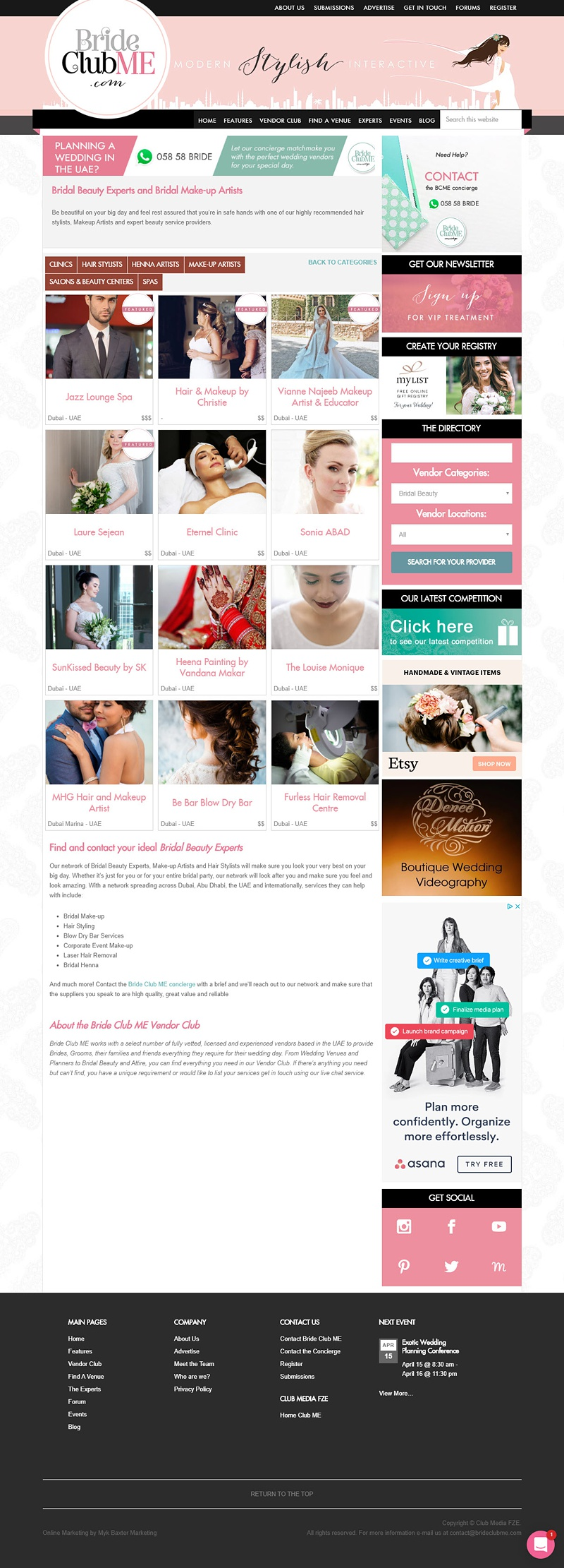 BrideClubMe DirectoryCategory