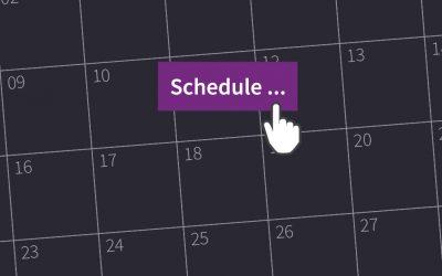 Work Smarter: Schedule your blog posts