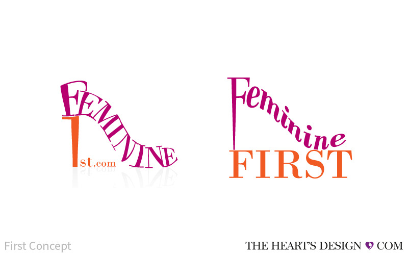 THD BrandingLogo FeminineFirst Rev1