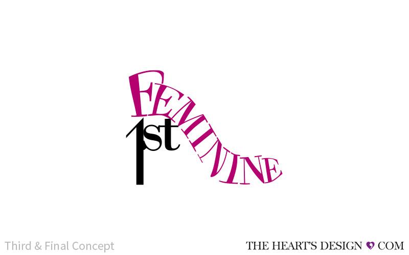 THD BrandingLogo FeminineFirst Rev3