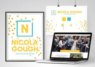 Nicola Gough – Wedding Photography Website – New Design