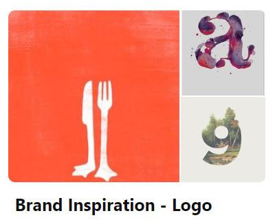 Pinterest Branding Logo