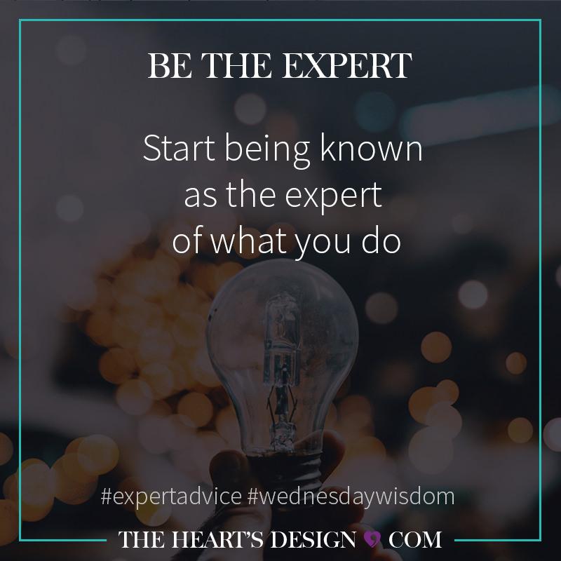 THD Blog StartBeingTheExpert INSTA