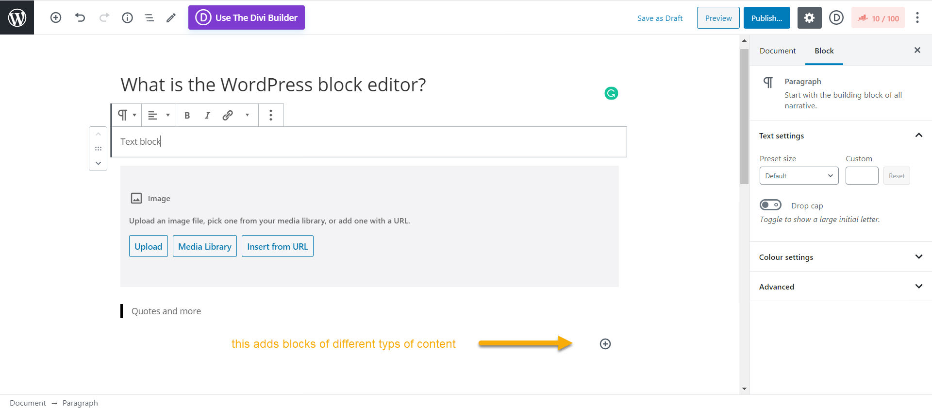 THD RankMathSEO WordPressBlockEditor
