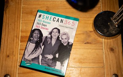Being part of a book about 365 entrepreneurial women
