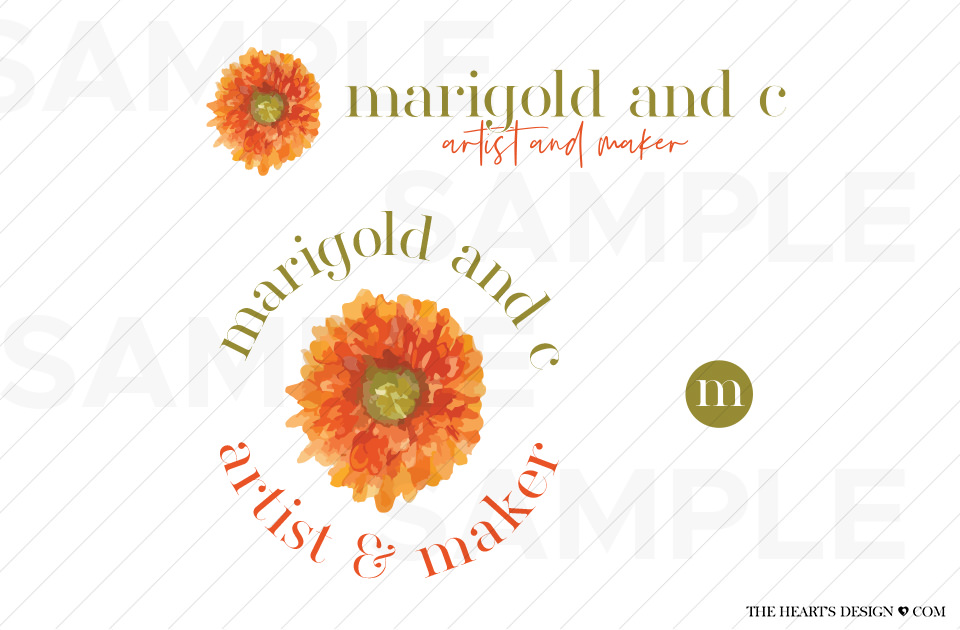 Brand MarigoldAndC Watercolour